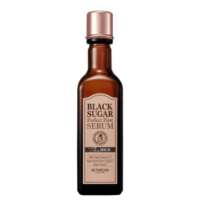 SKINFOOD Black Sugar Perfect First Serum The Mild serum do twarzy z nierafinowanym cukrem trzcinowym 120ml